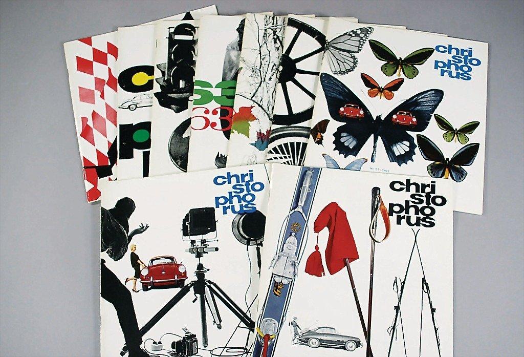 "106: PORSCHE magazine ""Christophorus"" year 1962, No. 55"