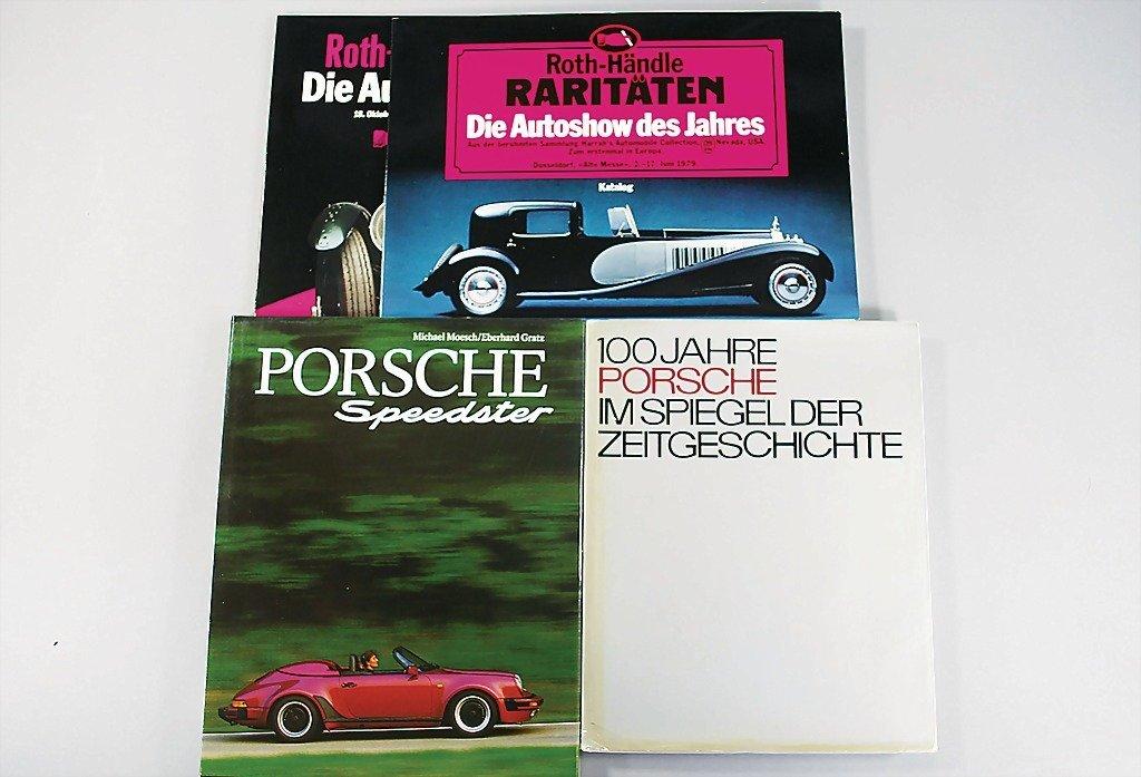 "114: mixed lot of 6 pieces, books, e.g. ""100 Jahre Pors"