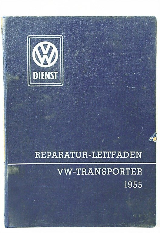 116: VW guide for the repair of a VW-transporter, type