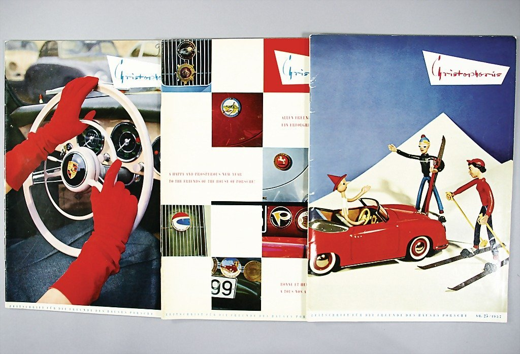 "119: PORSCHE magazine ""Christophorus"" year 1956, No. 23"