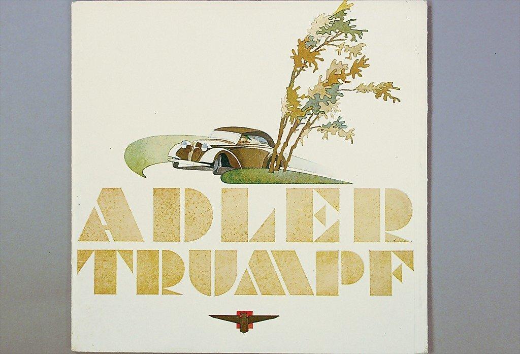 1404: ADLER big sales catalog, eagle Trumpf 1.7 litre,