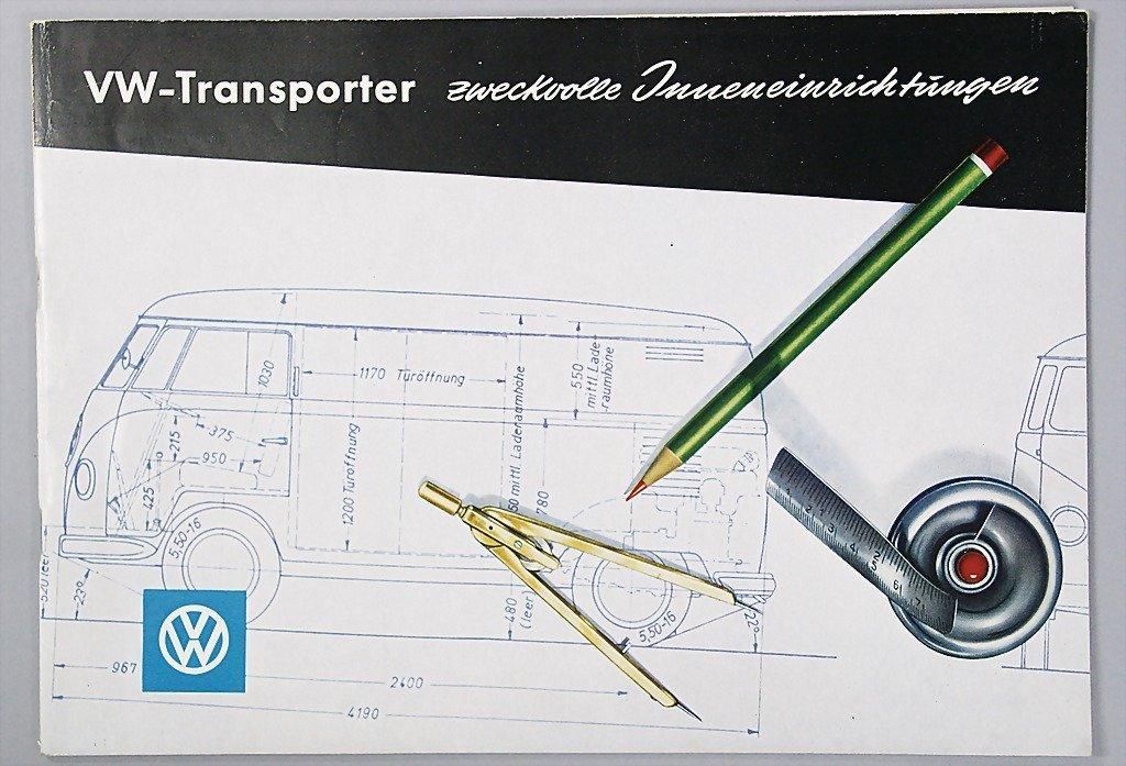 1407: VW brochure, VW-transporter purposeful interior e
