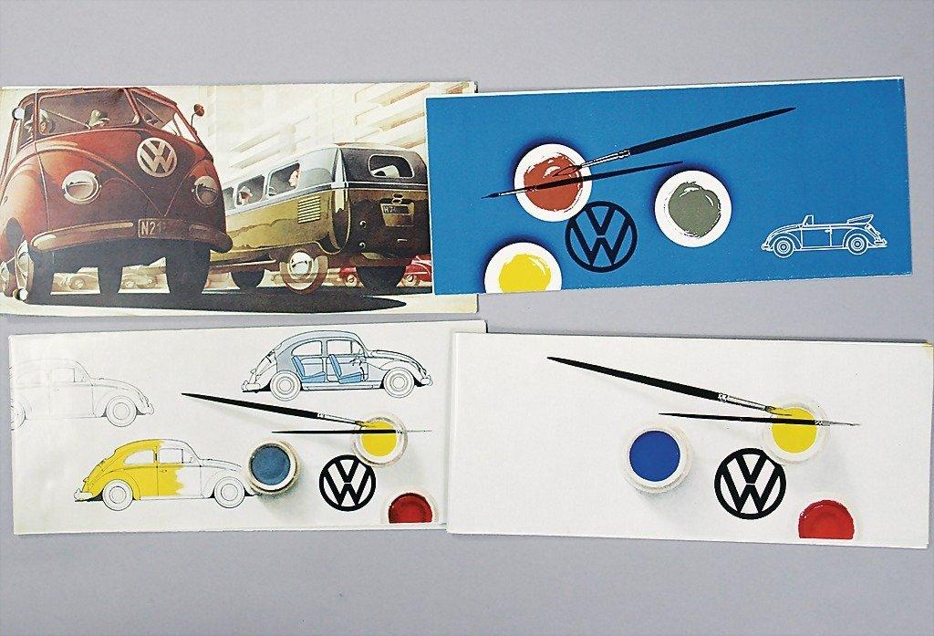 1408: VW mixed lot of 5 pieces, 1x transporter model pr