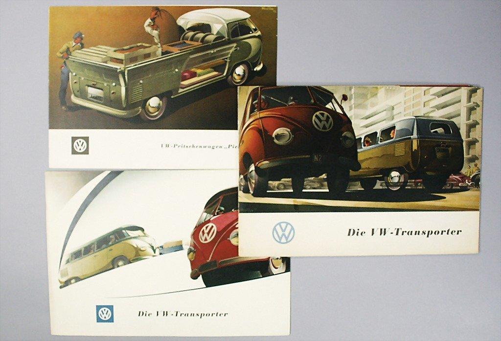 1409: VW mixed lot of 3 pieces, 1x portfolio, the VW-tr