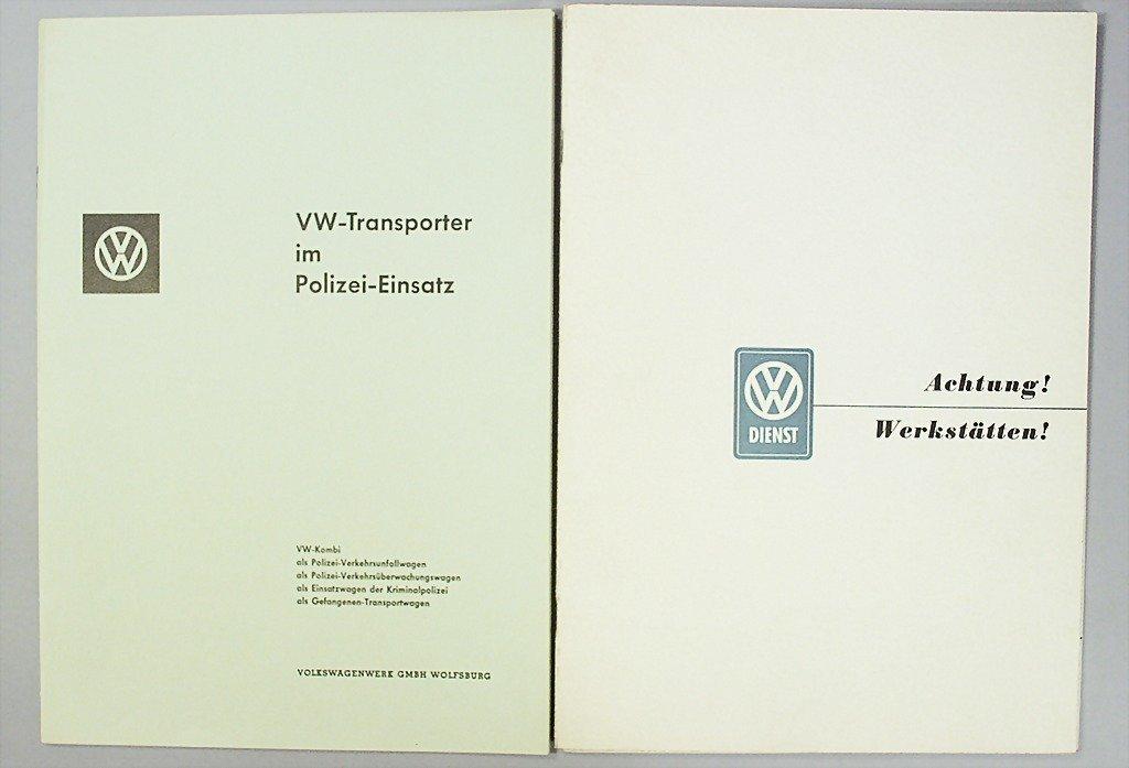 "1412: VW mixed lot of 3 pieces, 1x brochure, ""VW-Transp"