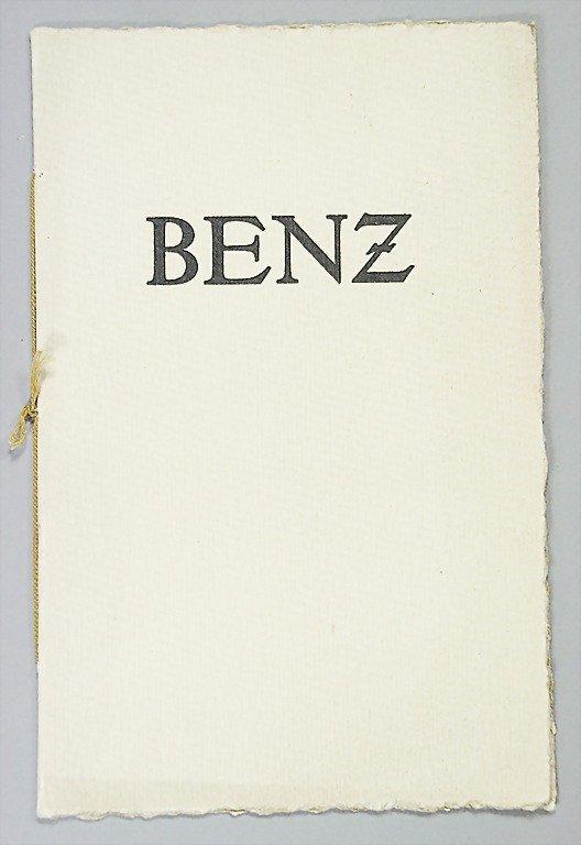 1423: BENZ & Cie D 1914, brochure, price list, 12 pages