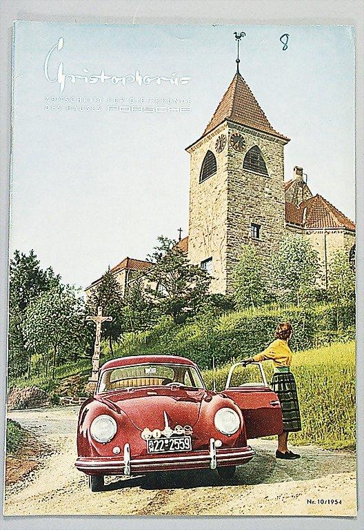 "1545: PORSCHE magazine ""Christophorus"" year 1954, No. 1"