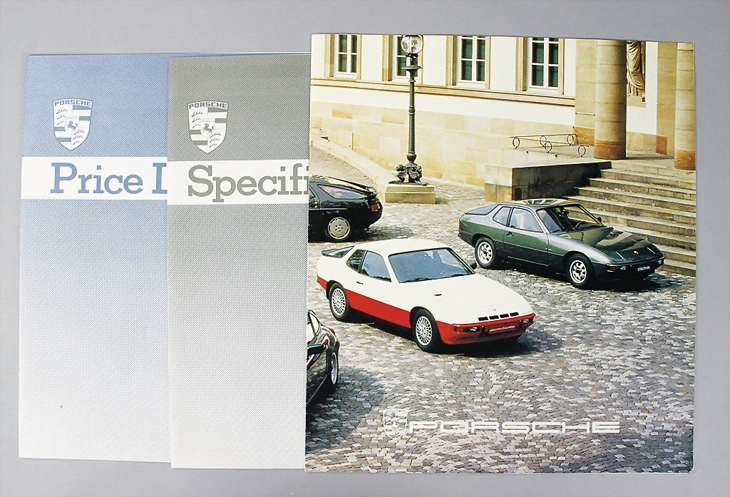 1623: PORSCHE/ MITSUWA sale documents, Porsche 924/ 924