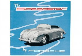 "PORSCHE English Folder 1955, ""The Speedster"" (1.5"