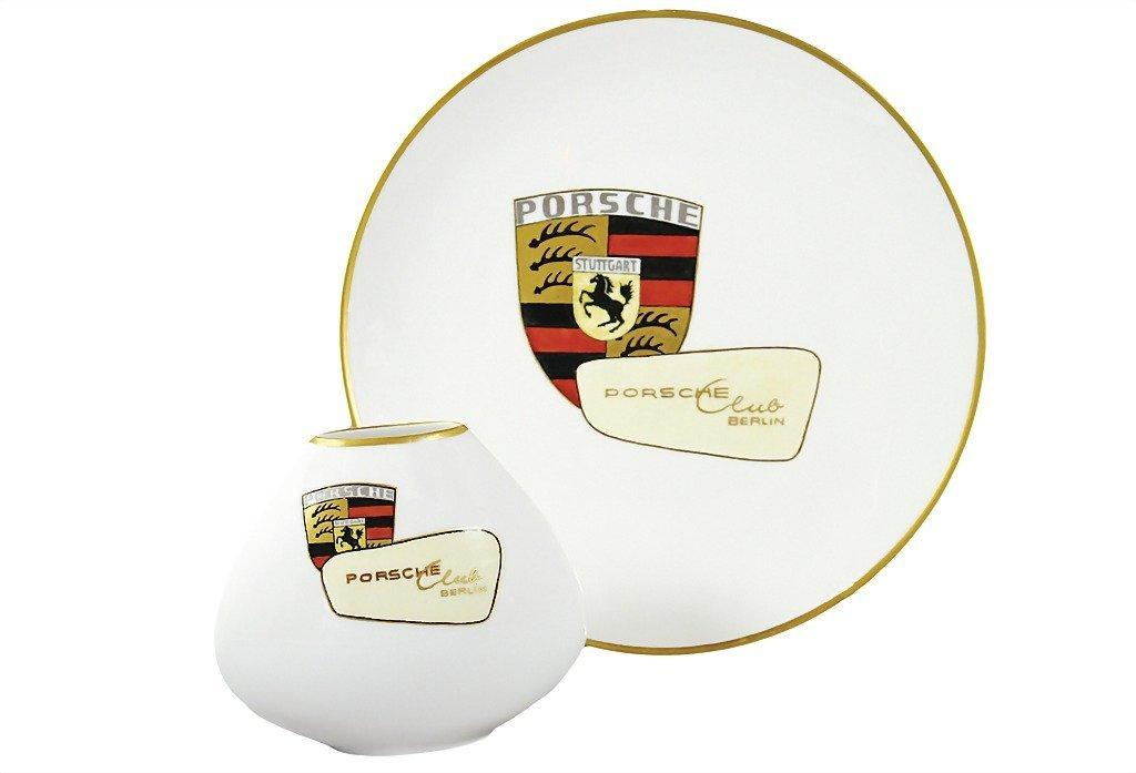 3014: PORSCHE Germany 1968, hanging  plate Porsche Club