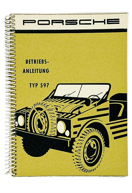 3017: PORSCHE Germany 1958 (W 391) operating instructio