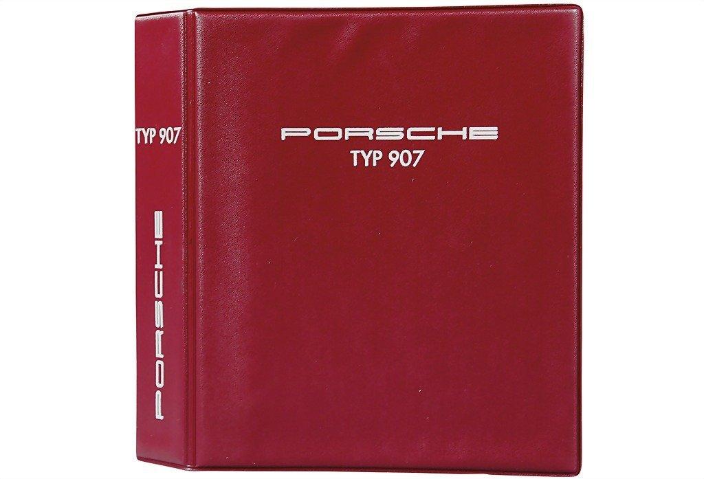 3022: PORSCHE 1968 operating instructions type 907 , pr