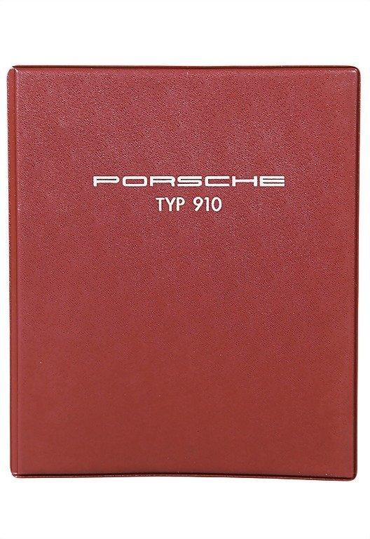 3023: PORSCHE 1967 operating instructions type 910 , pr