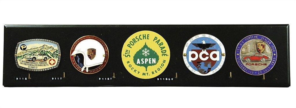 3075: PORSCHE key rack for the Porsche vehicles of the