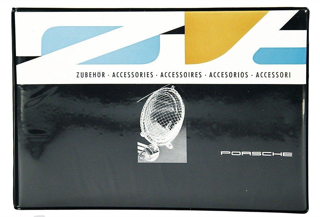 3078: PORSCHE 1962, accessory catalog  in five language