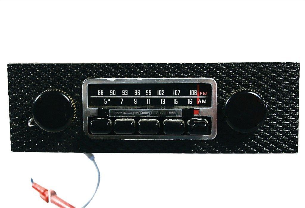 3081: PORSCHE late '60s, Porsche radio AM-FM radio with