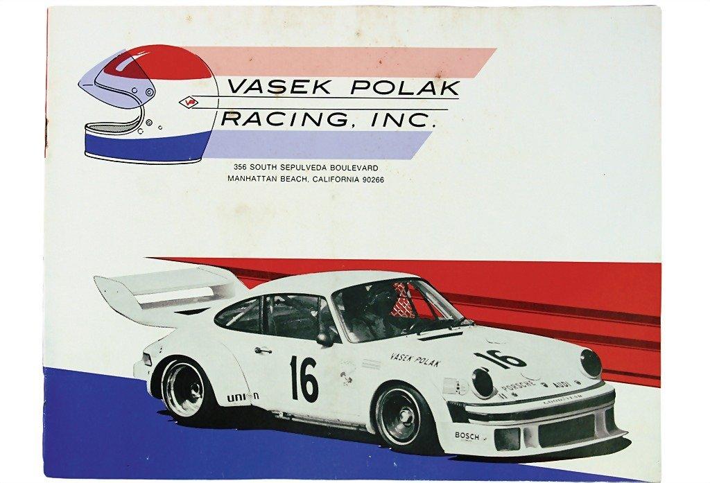 3083: PORSCHE/VASEK POLAK RACING catalog of racing acce