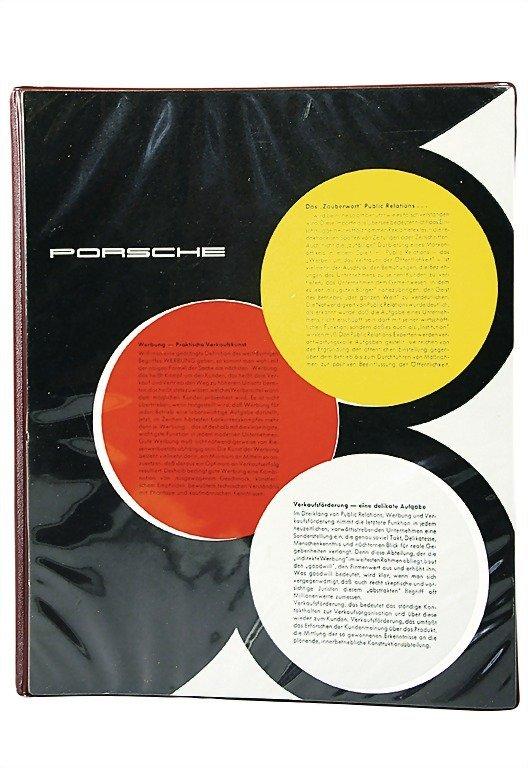 3085: PORSCHE Germany c. 1957 - 1960, Porsche promotion