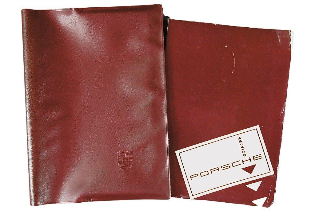 3087: PORSCHE folder, 1967/1968 with English operating