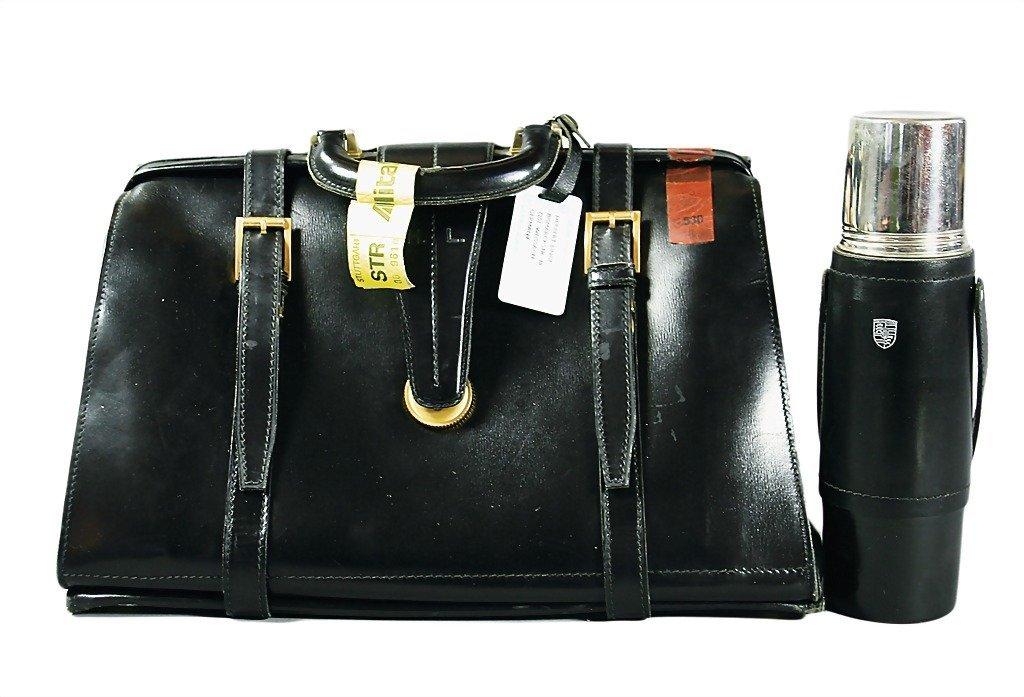 3092: PORSCHE/HERBERT LINGE 1960, helmet bag, gift for