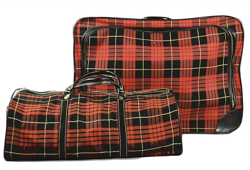 3093: PORSCHE suitcase set, special accessory for type