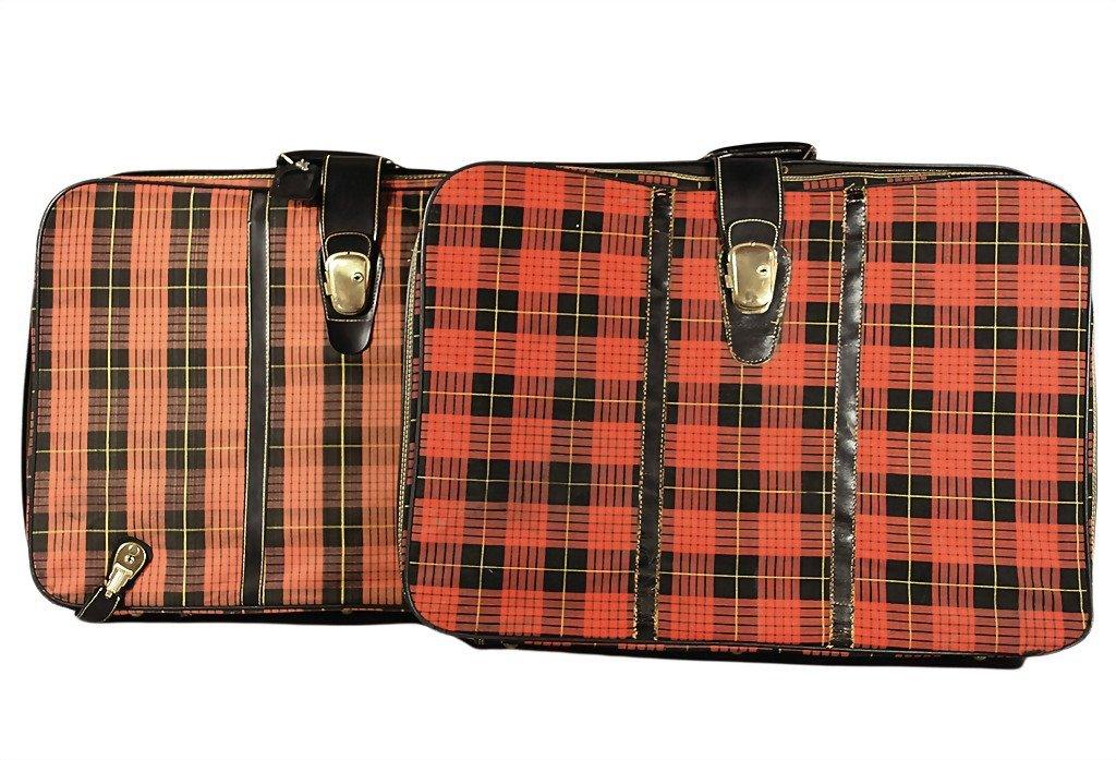 3094: PORSCHE suitcase set type 356 B and C (back seat)