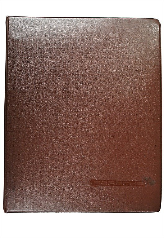3119: PORSCHE 1954, original salesman folder Porsche ty