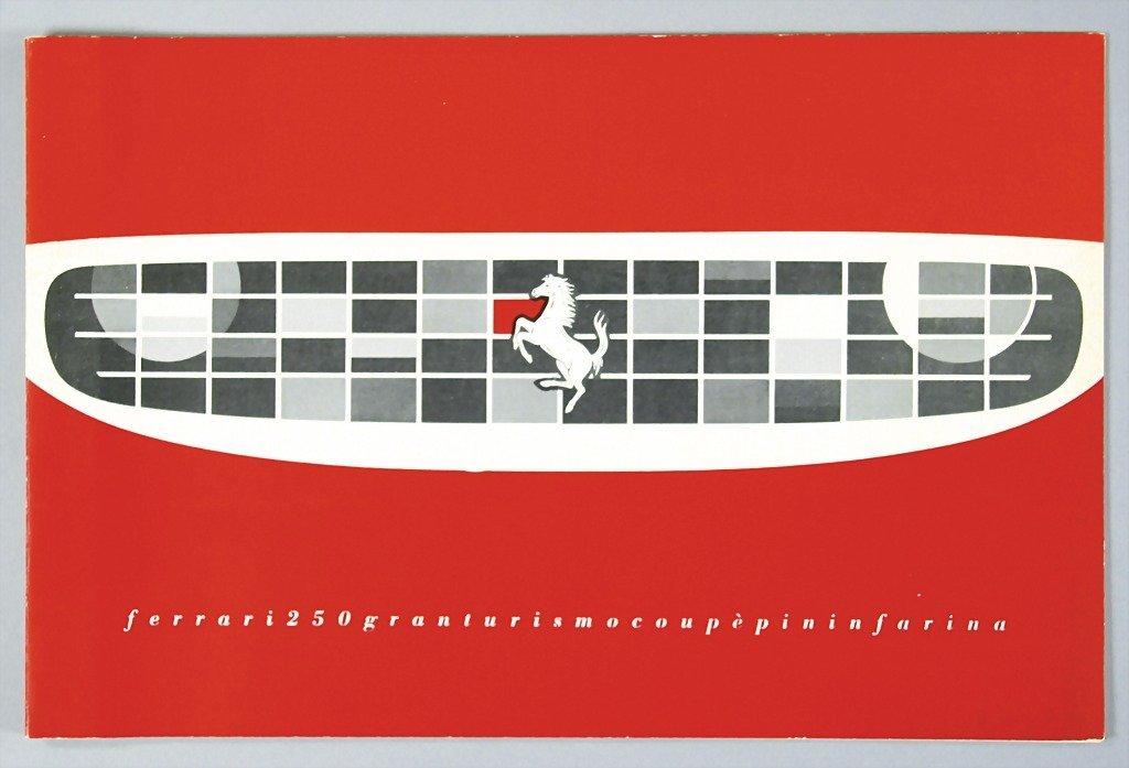 1811: FERRARI brochure Ferrari 250 Granturismo Coupe Pi
