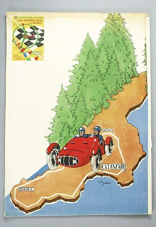 1823: programme, 7. Giro Automobilistico delle Calabrie