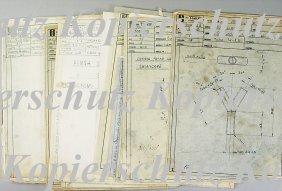 DE TOMASO 15 Blueprints With Detail Illustrations