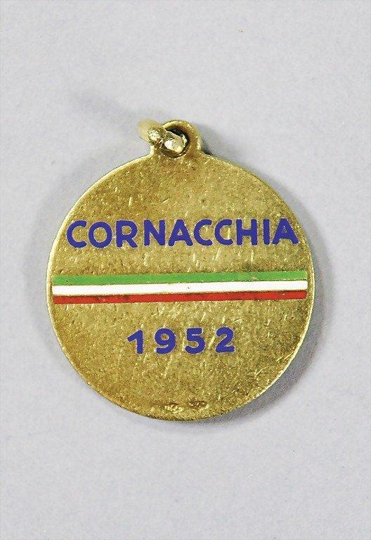 1892: FERRARI medal, presented to Franco Cornaccia (18