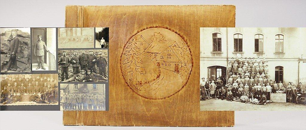 2: HORCH/ ROBERT BENKERT, photo album, family estate of
