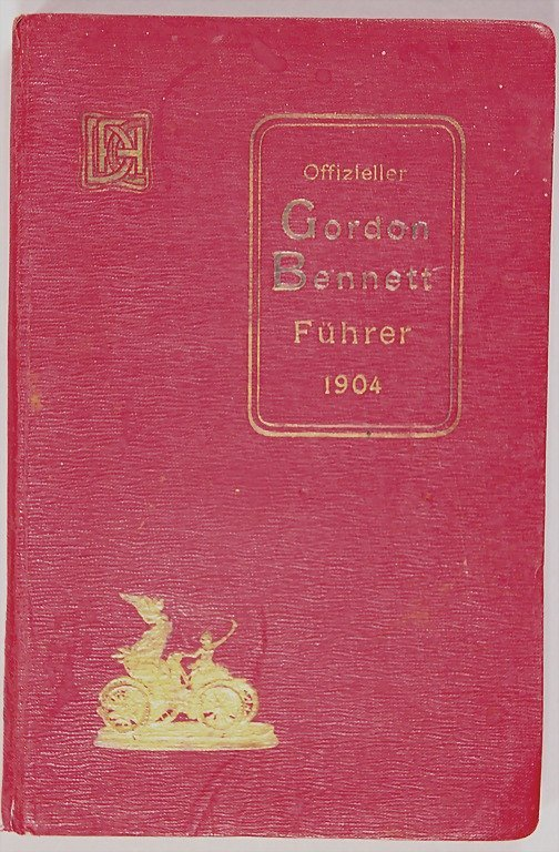 7: official Gordon-Bennett-guide 1904, 260 pages, inclu
