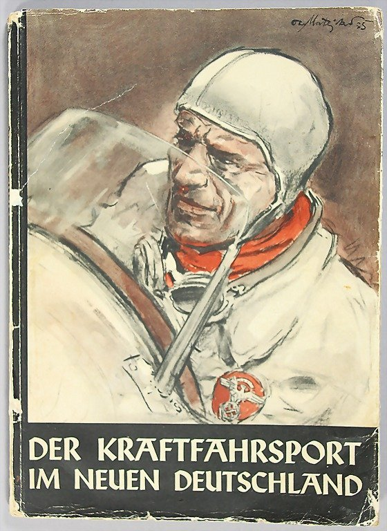 """8: book: """"Der Kraftfahrt Sport im neuen Deutschland"""", 1"""