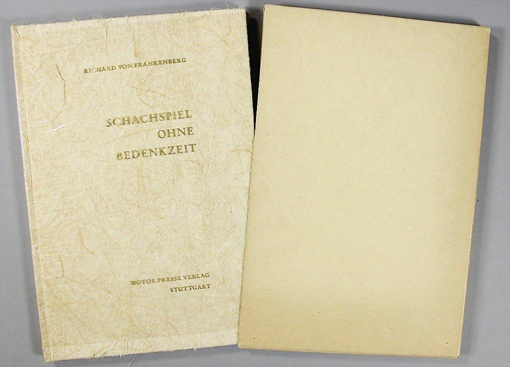 """9: book: """"Richard von Frankenberg- Schachspiel ohne Bed"""