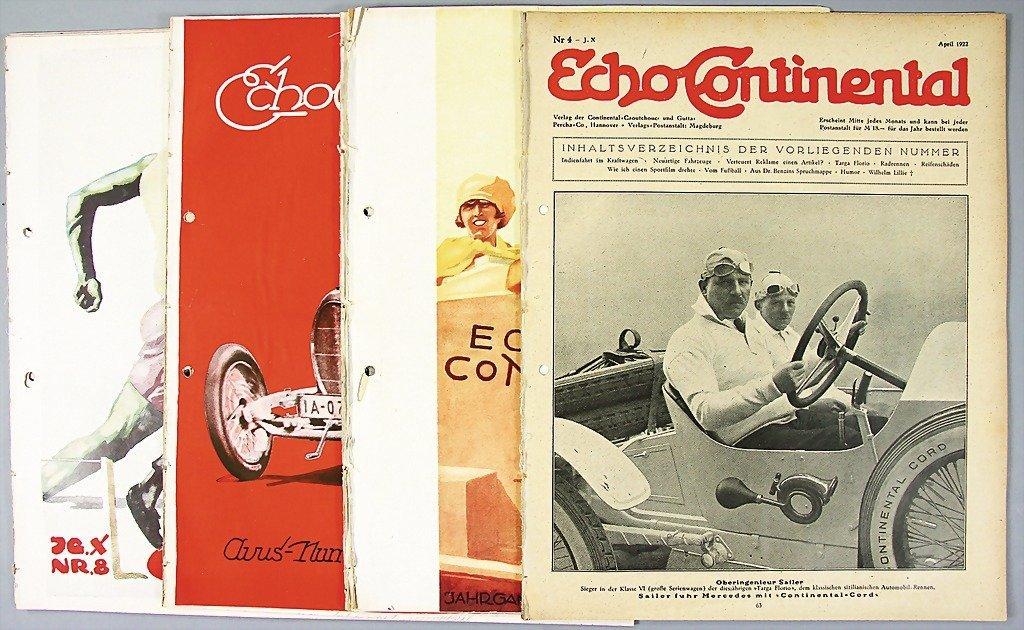 "14: magazine ""Echo Continental"", year 1922, issue No. 1"