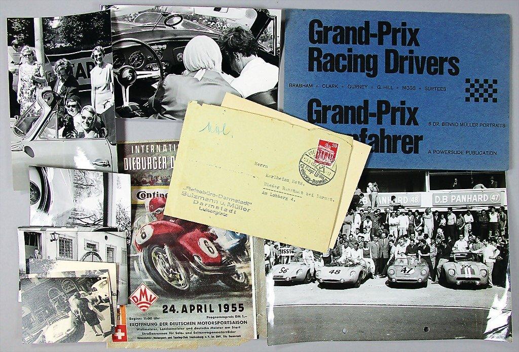 17: Dieburger Dreiecks-racing, April 1955, mixed lot of