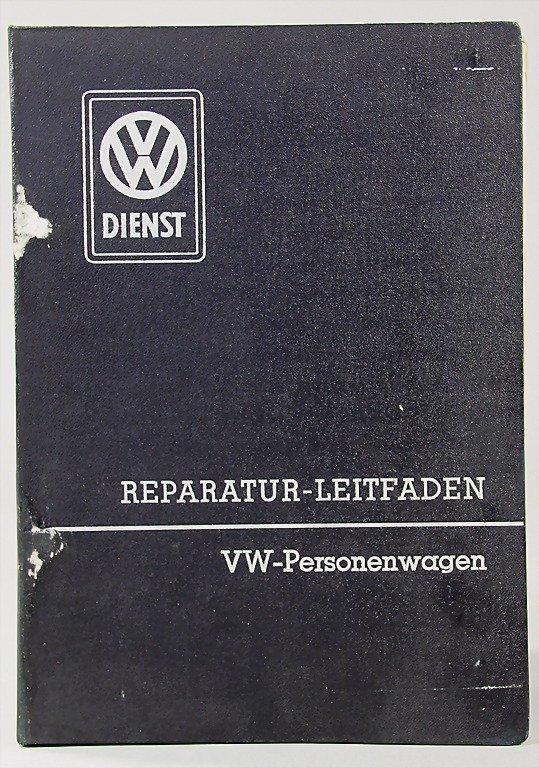 22: VW, guide for repair VW-motor car programme, editio