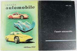 151 yearbook LAnnee Automobile book No 3 1955 to 1