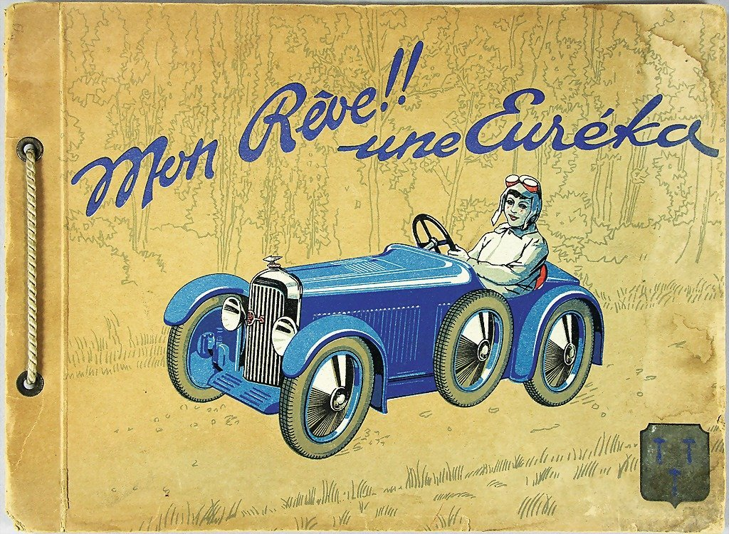 1170: EUREKA AUTOMOBILES, brochure pedal cars from 1932