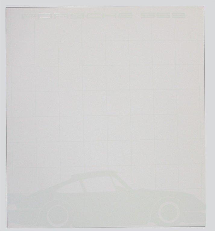1517: PORSCHE, 1984, sales catalog, Porsche type 959, i