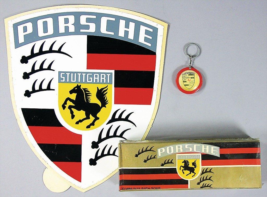 1528: PORSCHE, mixed lot of 3 pieces, No. 1: Porsche st