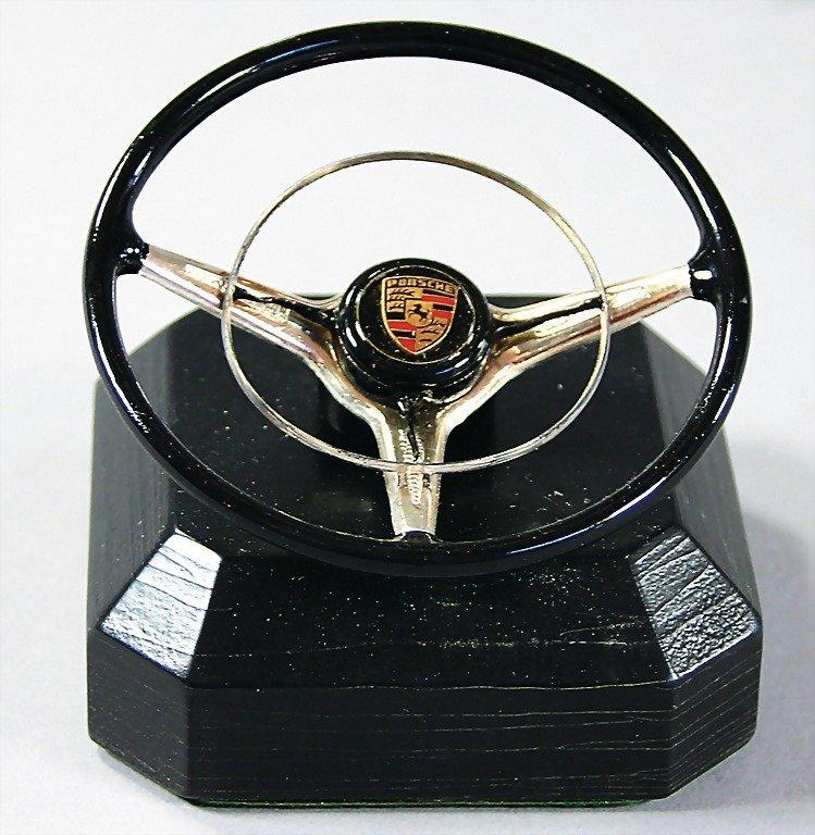 1530: PORSCHE, promotional gift miniature steering whee