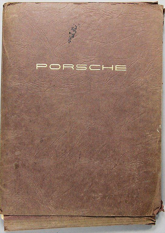 PORSCHE, service bulletin from 1958 to 1960, c. 1