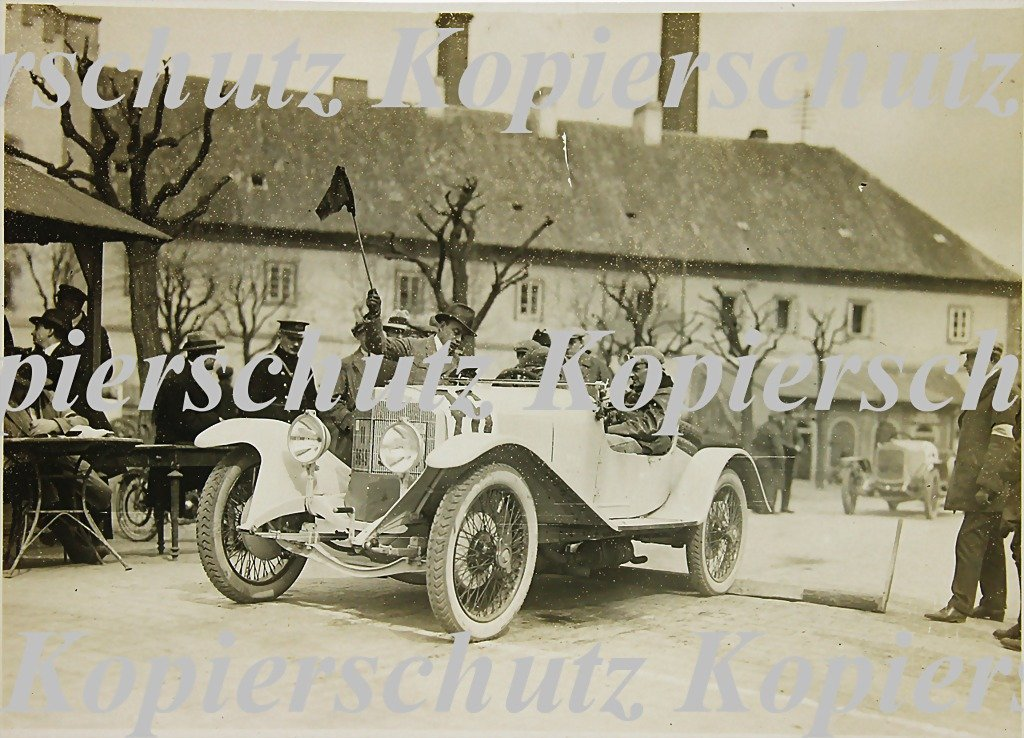 5005: RUDOLF CARACCIOLA, original B/W photo, mountain r