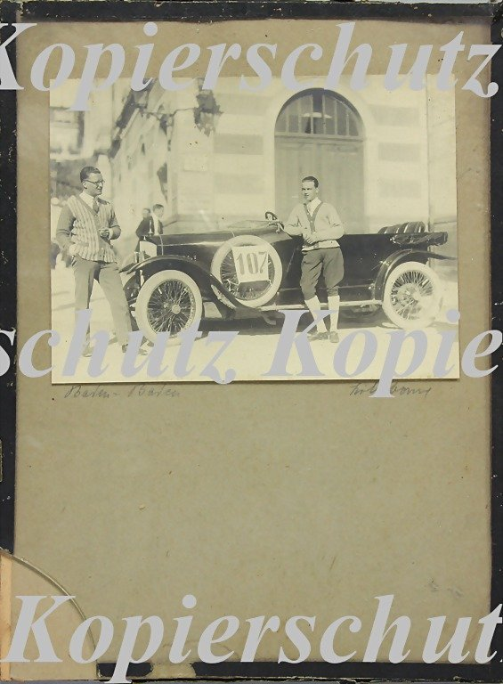5007: RUDOLF CARACCIOLA, mixed lot of 2 original B/W ph