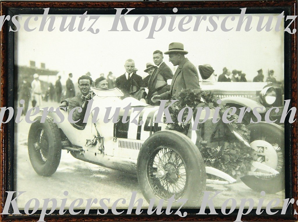 5011: RUDOLF CARACCIOLA, mixed lot of 2 original B/W ph