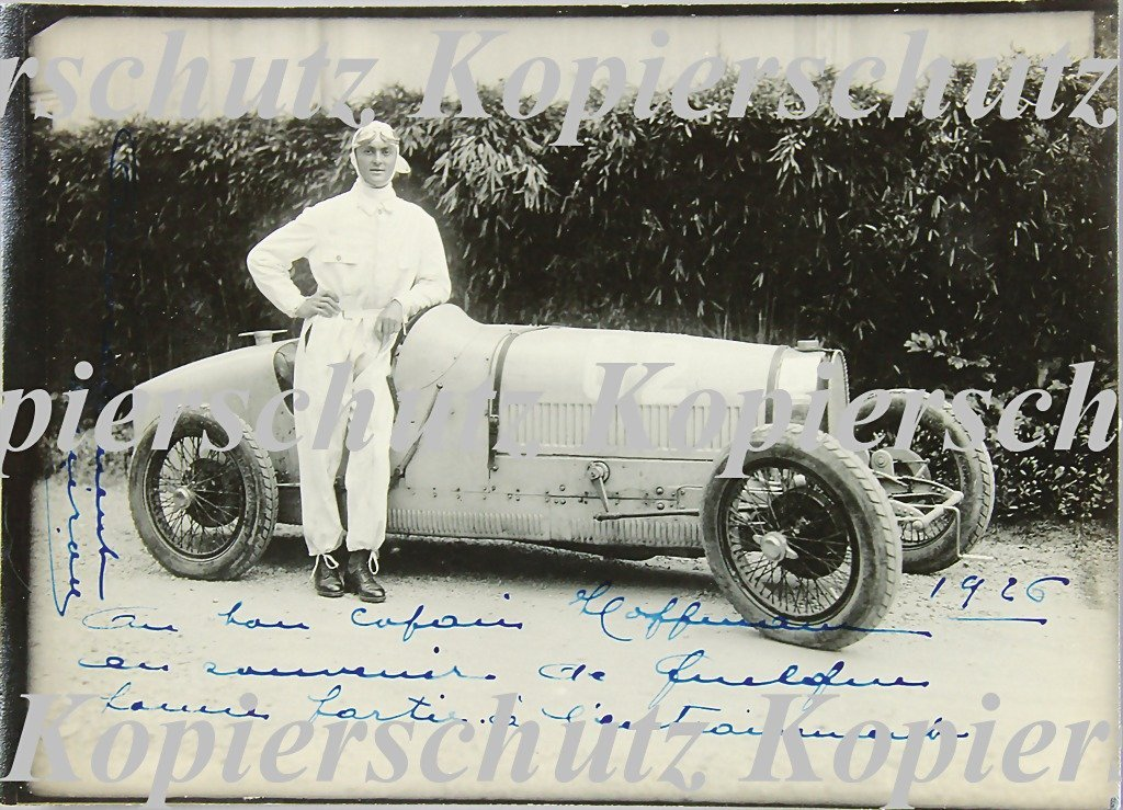 5017: ALICA CARACCIOLA, 1926, signed original B/W photo
