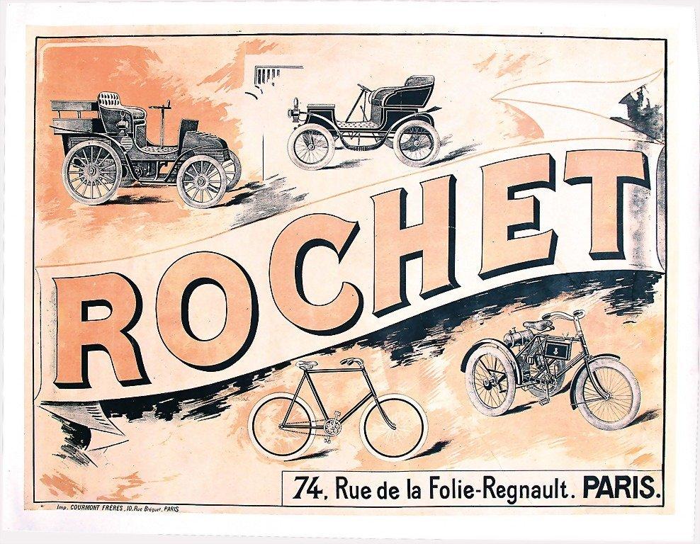 2107: ROCHET, advertisement, around 1905 (Imp. Cormont