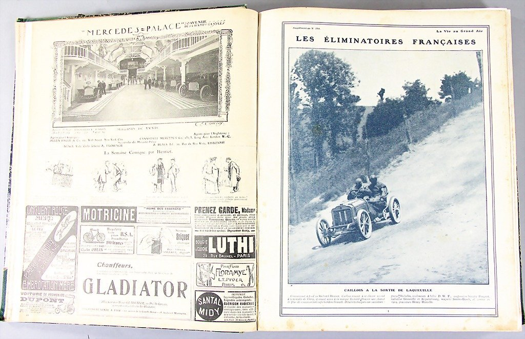 "magazine ""LA VIE EN GRAND AIR"", year 1903, 2nd half-yea"